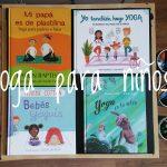 Cuatro libros para practicar yoga y jugar con los niños