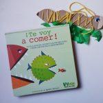 ¡Te voy a comer!, un libro distinto para jugar y aprender sobre la cadena alimentaria