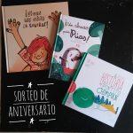 Sorteamos tres cuentos para celebrar nuestro primer aniversario