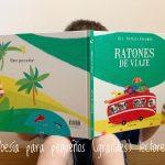 Ratones de viaje, un libro para jugar con la poesía