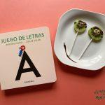 Juego de letras, un libro para jugar con el abecedario