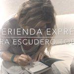 Merienda exprés con Laura Escudero
