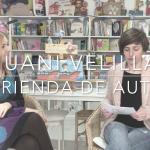 """Entrevista con Juani Velilla con motivo de la publicación de """"Bruno y el secreto de los cuentos"""""""