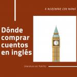 Dónde comprar cuentos en inglés para niños